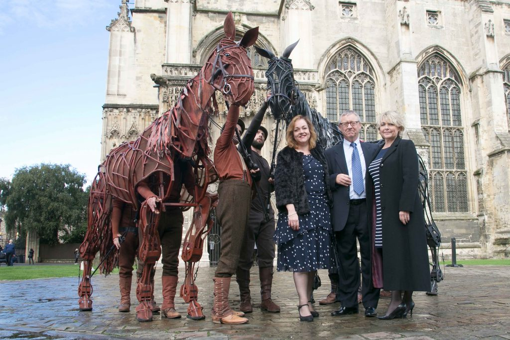 Photo from the War Horse press launch