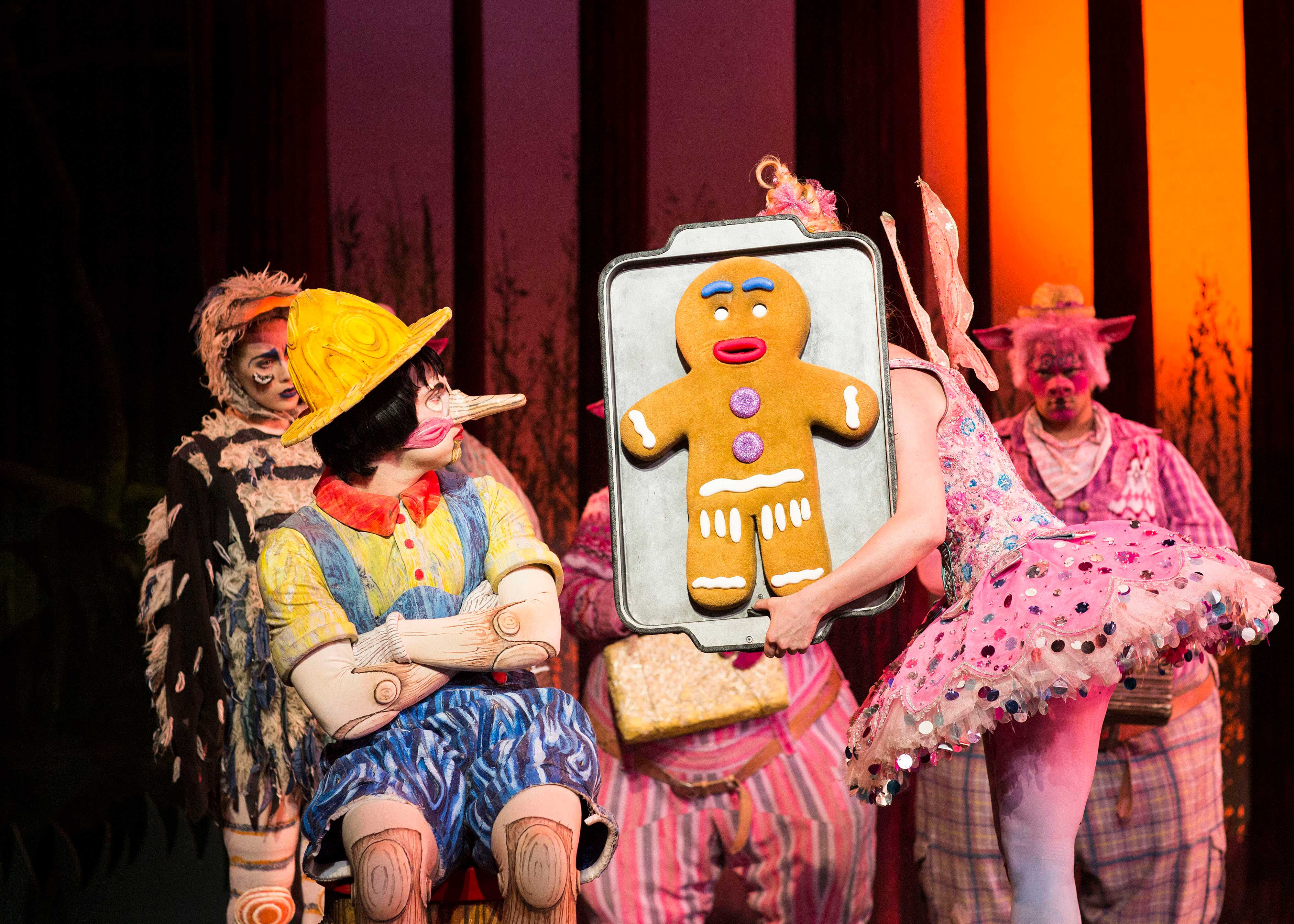 Shrek production photo the marlowe - Bristol hippodrome box office opening hours ...