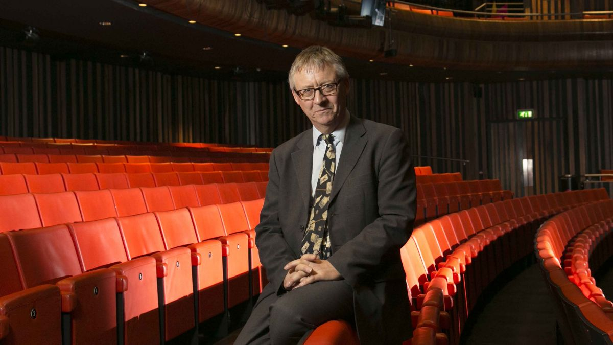 Mark retires from role as theatre boss.