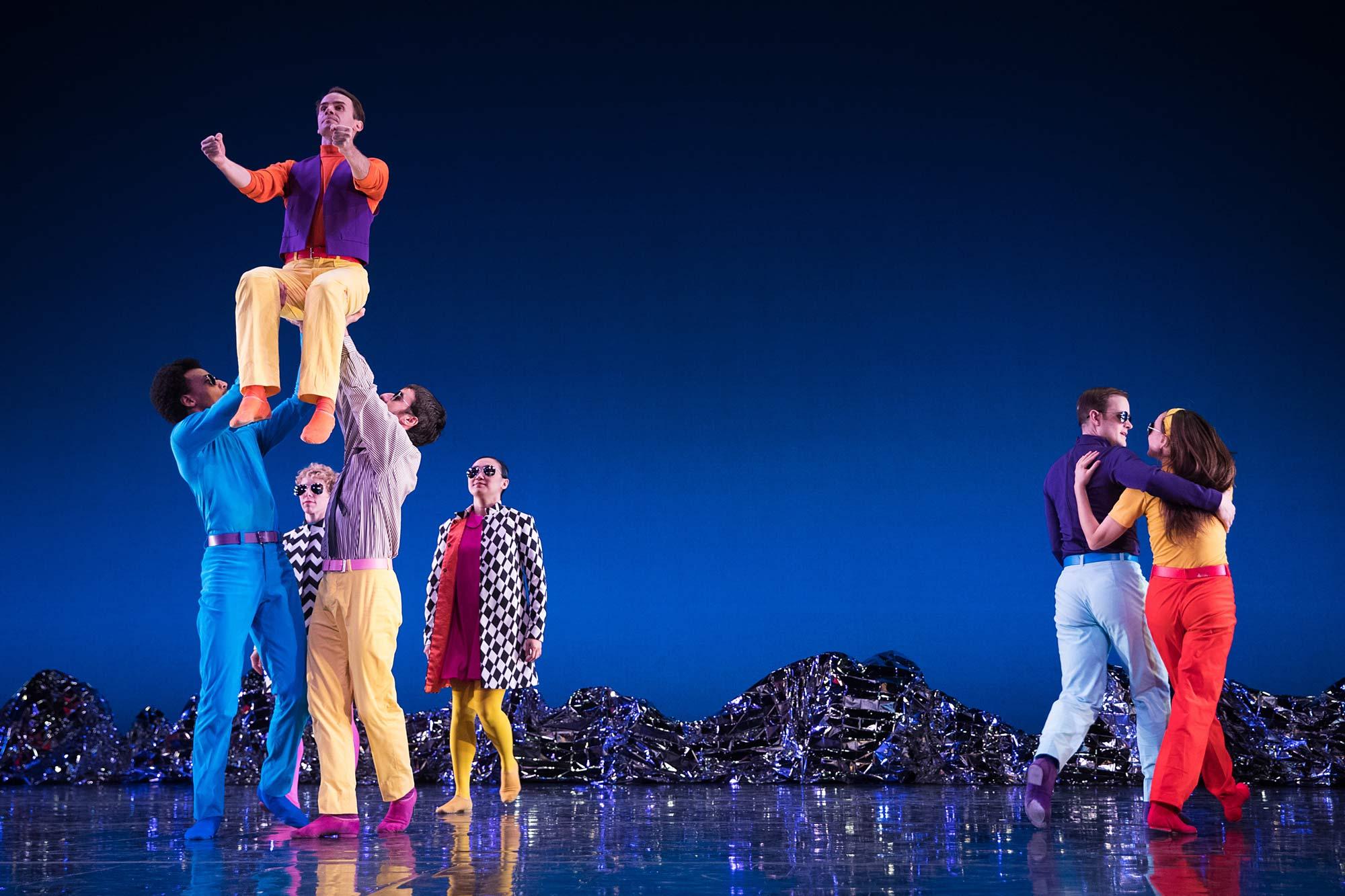 Photo from Mark Morris Dance Group's Pepperland