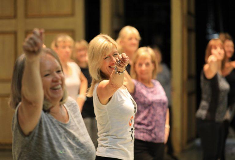 Over 55s dance class