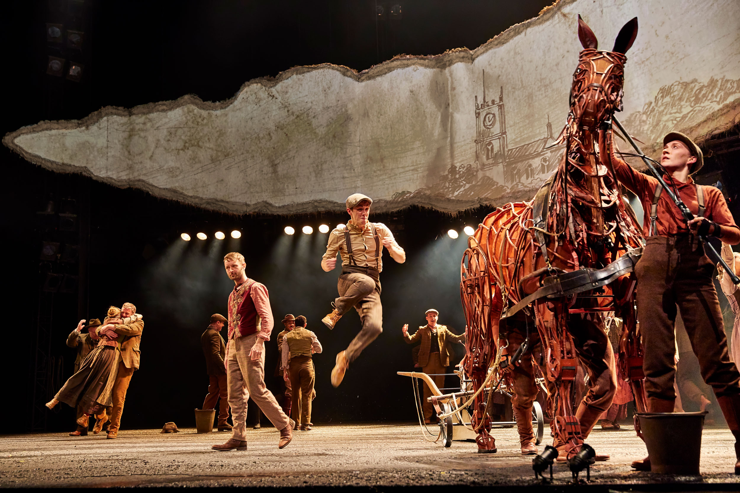 Photo from War Horse, 2019 tour