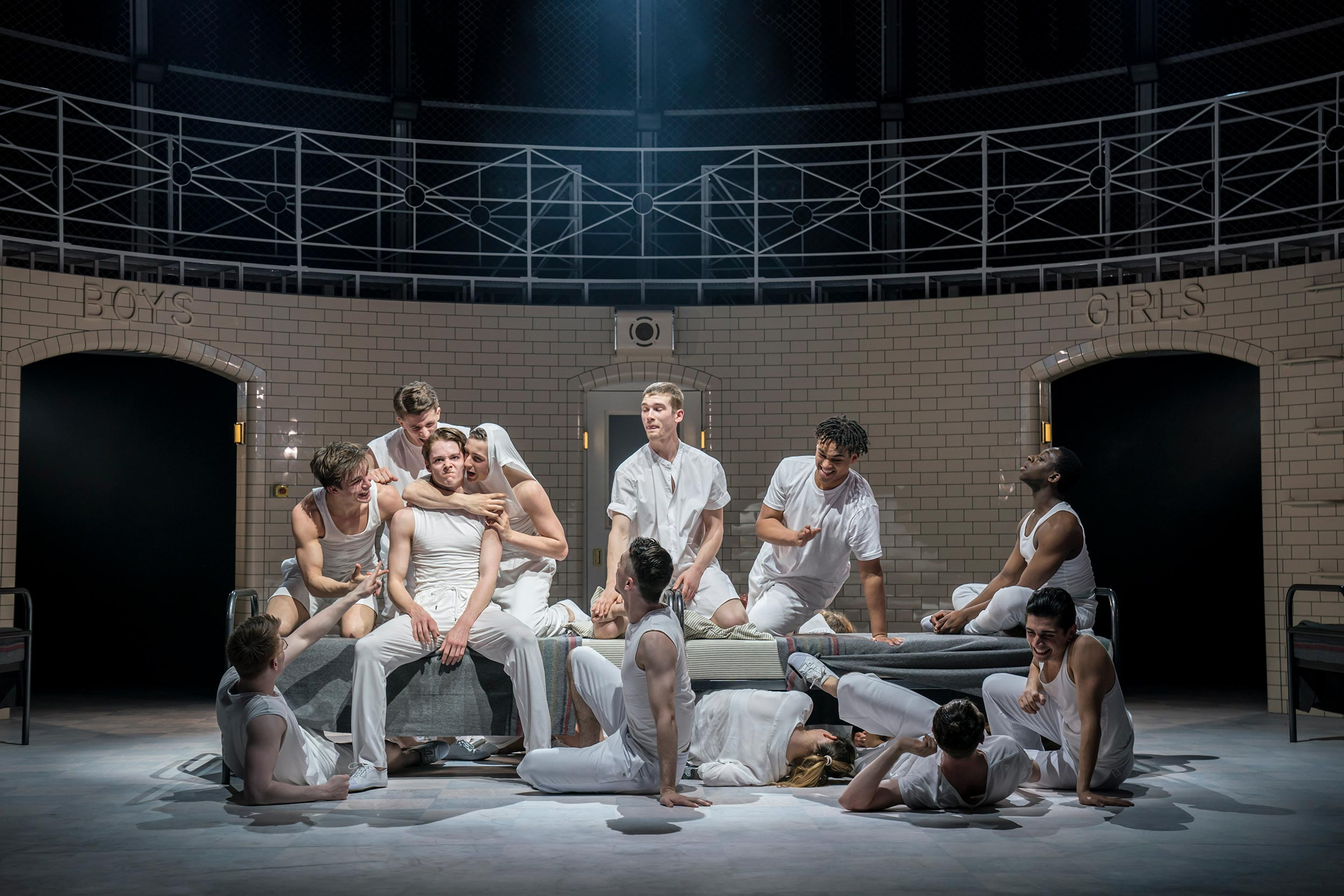 Production photo from Matthew Bourne's Romeo And Juliet