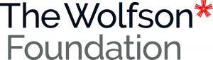 Logo for The Wolfson Foundation